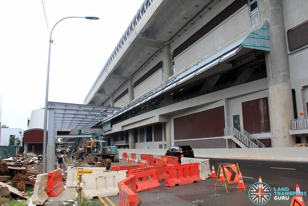 Tuas West Road MRT Station - Construction progress (June 2016)