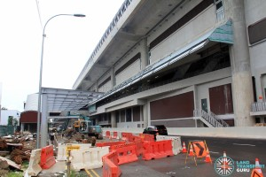 Tuas West Road MRT Station - Construction progress (June 2016)