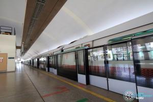 Simei MRT Station - Platform A