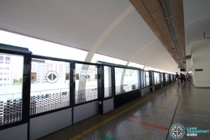 Simei MRT Station - Platform B