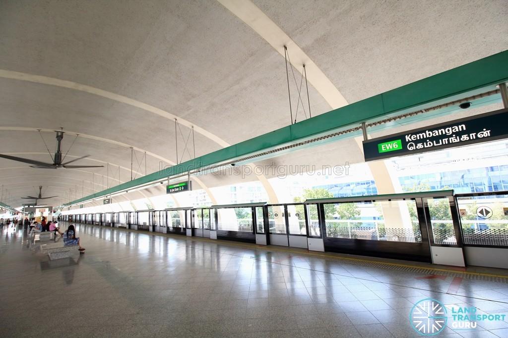 Kembangan MRT Station - Platform level