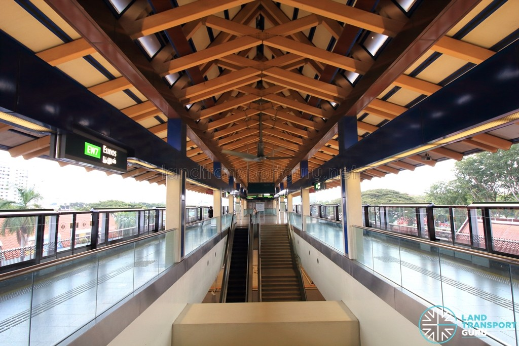 Eunos MRT Station - Platform level