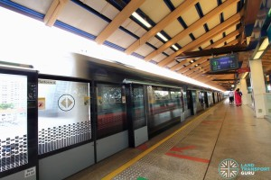 Eunos MRT Station - Platform A