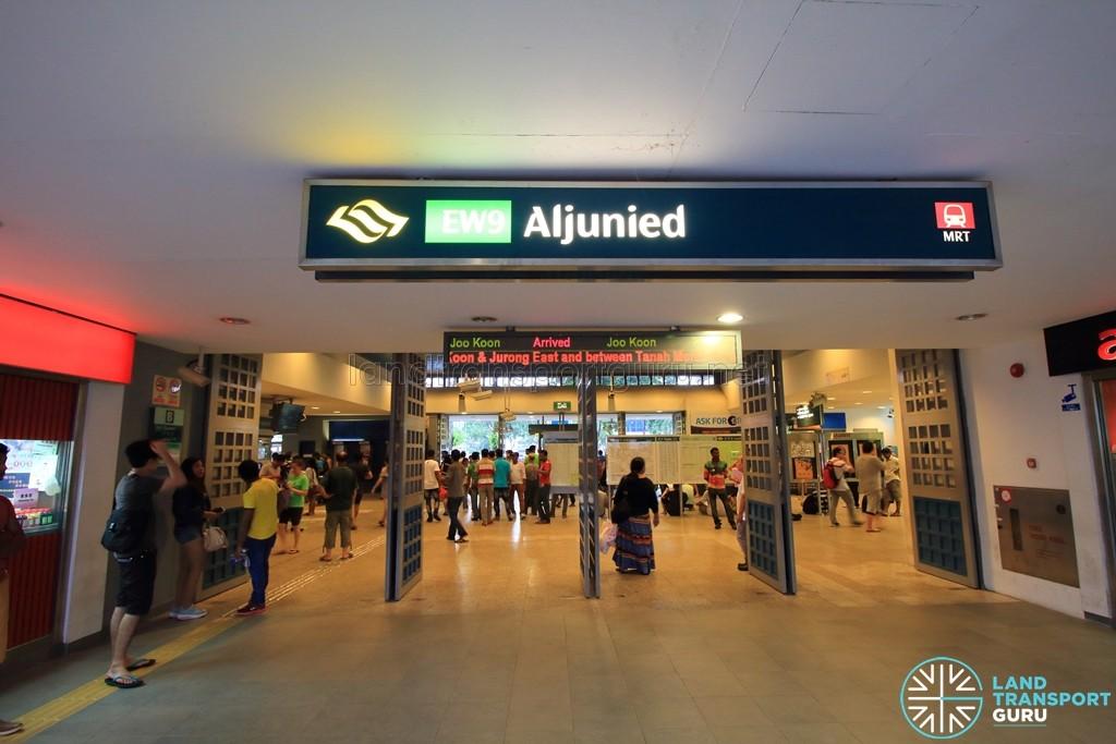 Aljunied MRT Station - Exit B