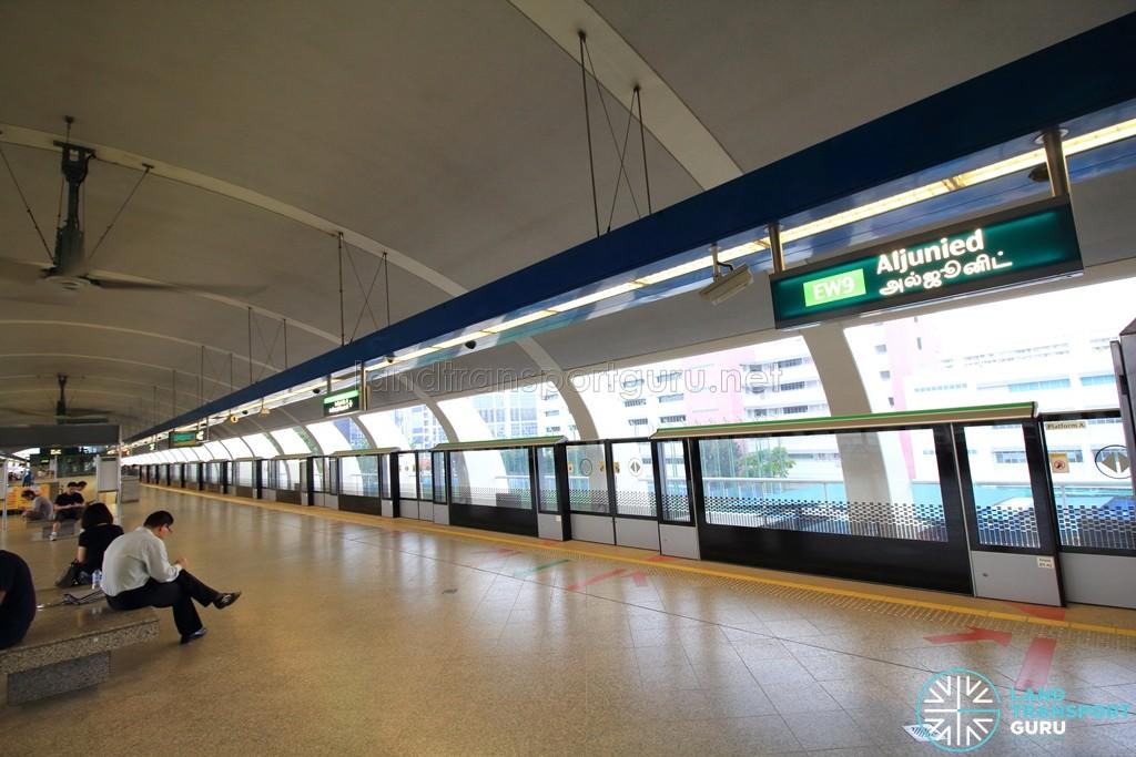 Aljunied MRT Station - Platform level