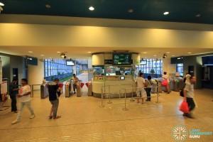 Aljunied MRT Station - Passenger Service Centre & Faregates