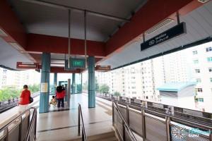 Meridian LRT Station - Platform level