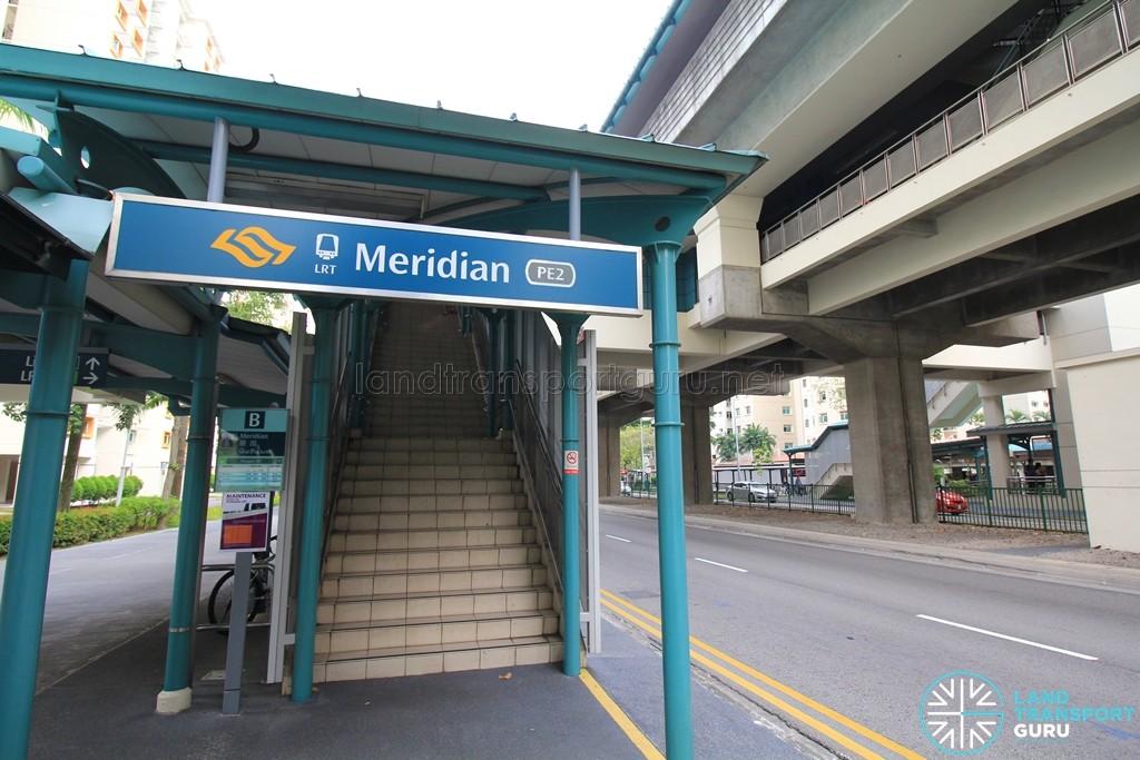 Meridian LRT Station - Exit B