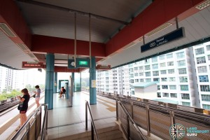 Damai LRT Station - Platform level