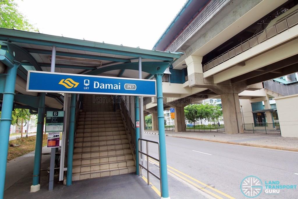 Damai LRT Station - Exit B