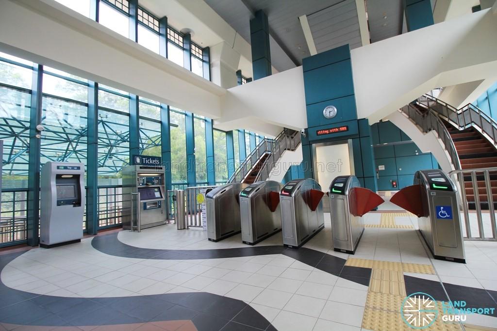 Sam Kee LRT Station - Ground level Concourse (Unpaid area)
