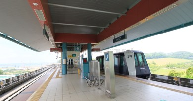 Nibong LRT Station - Platform level