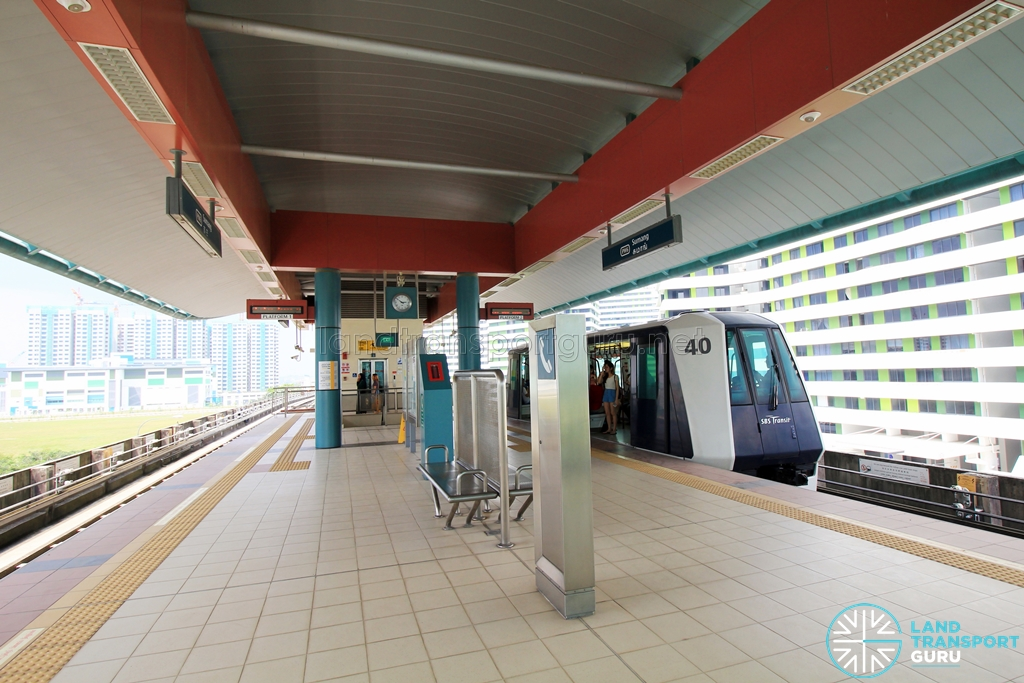 Sumang LRT Station - Platform level