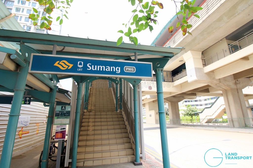Sumang LRT Station - Exit A