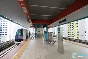 Soo Teck LRT Station - Platform level