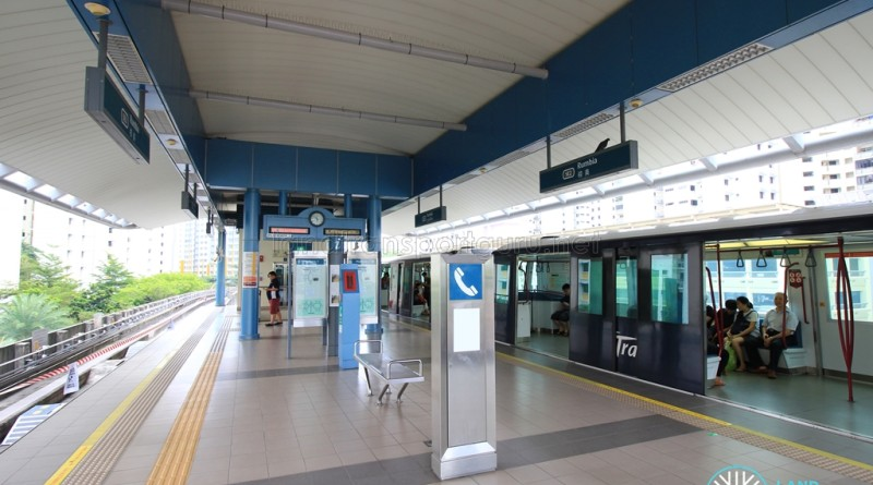 Rumbia LRT Station - Platform level