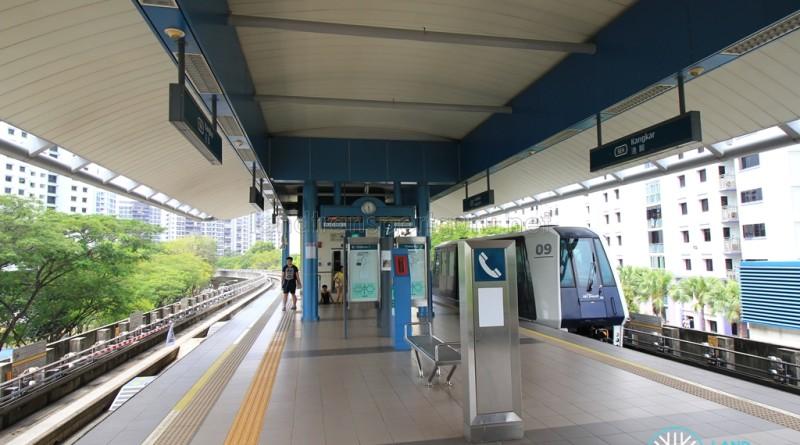 Kangkar LRT Station - Platform level