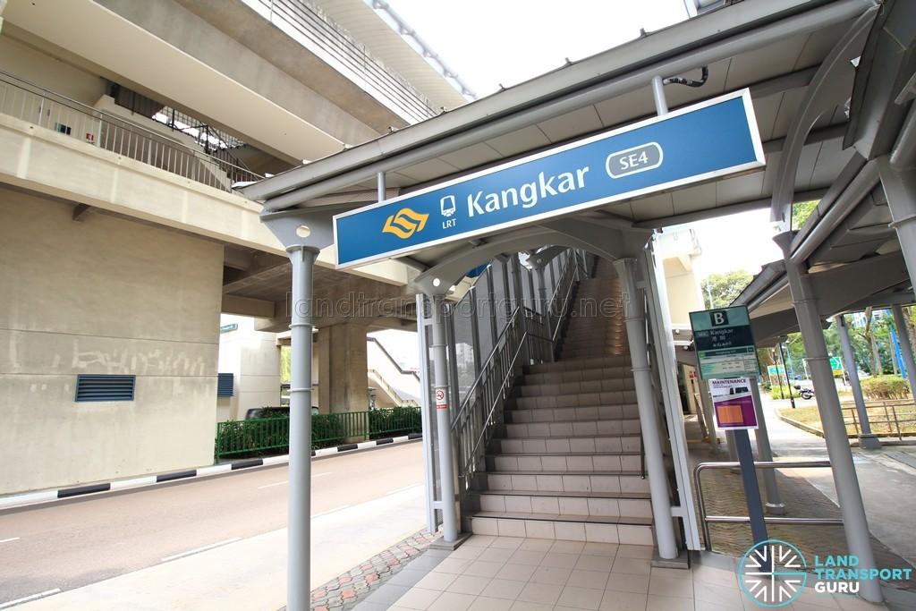 Kangkar LRT Station - Exit B