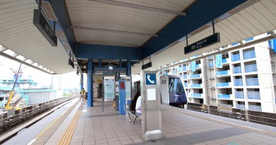 Cheng Lim LRT Station - Platform level