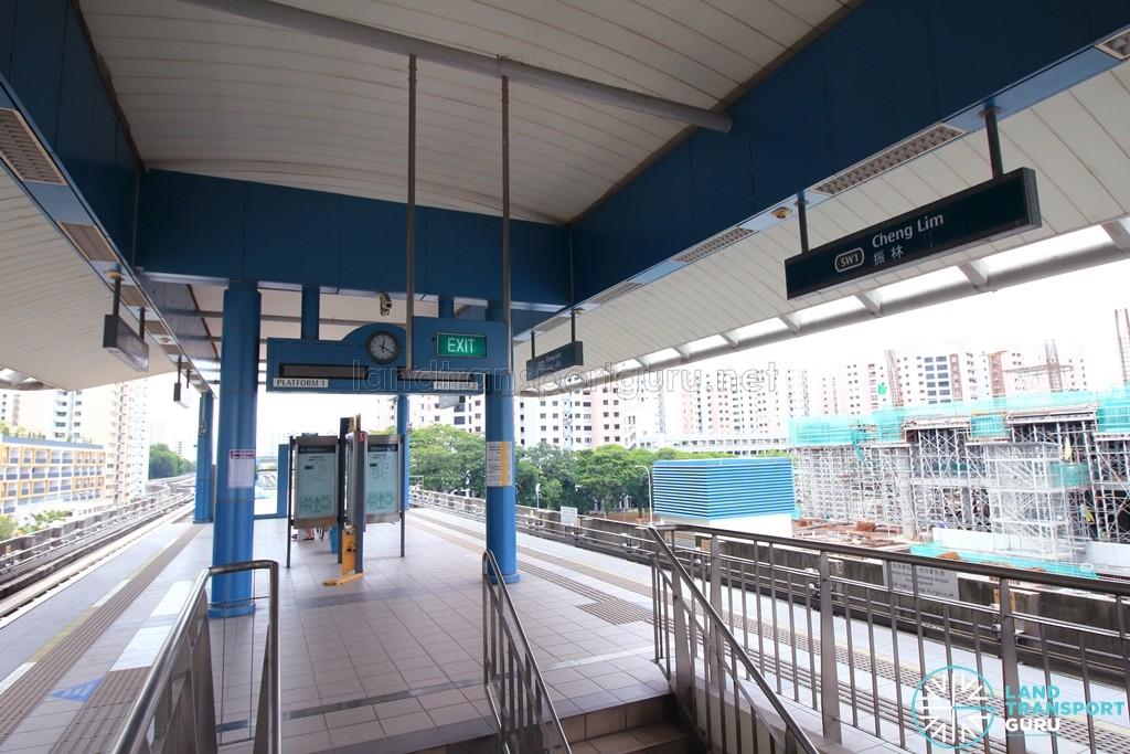 Cheng Lim LRT Station - Platform level