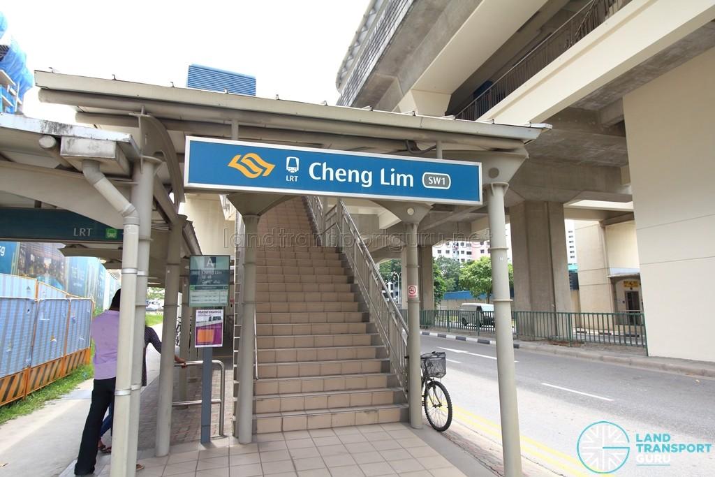 Cheng Lim LRT Station - Exit A