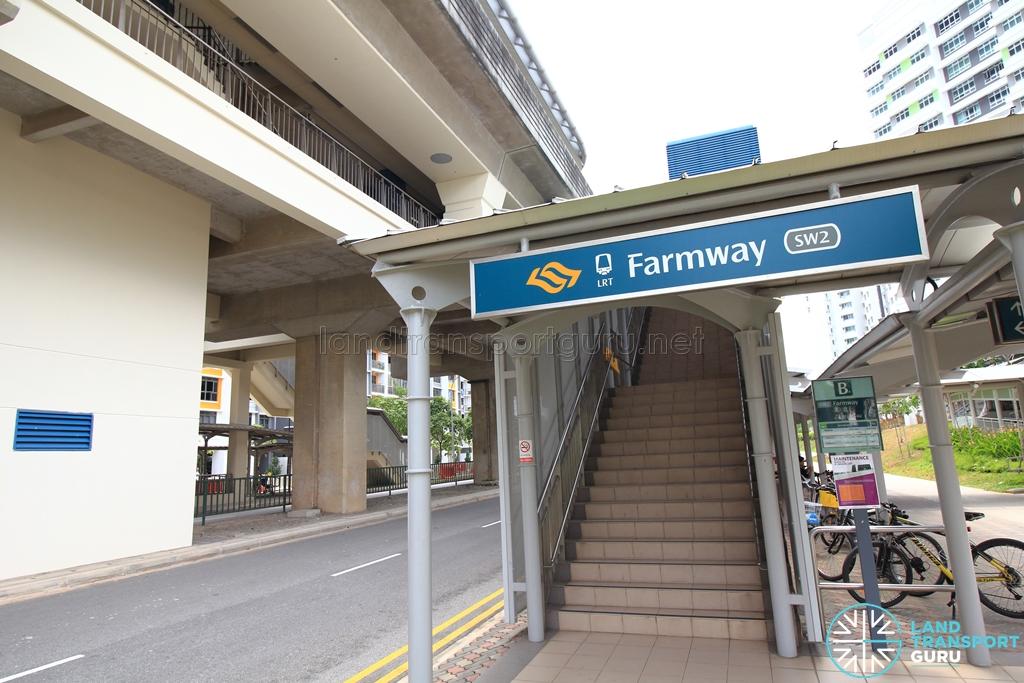 Farmway LRT Station - Exit B