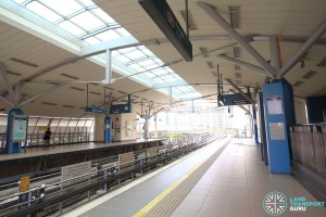 Fernvale LRT Station - Platform level