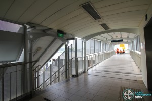 Tongkang LRT Station - Linkbridge to Sengkang Depot