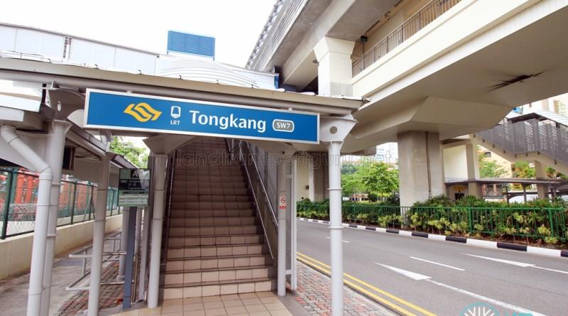 Tongkang LRT Station - Exit A