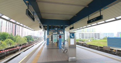 Renjong LRT Station - Platform level