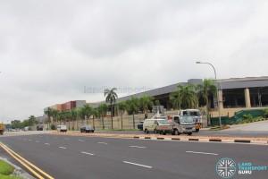 Tuas MRT Depot - Depot building