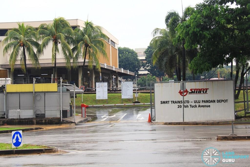 Ulu Pandan Depot entrance