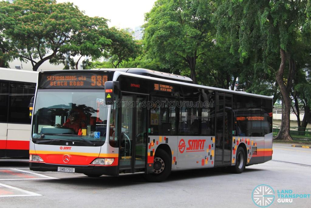 SMRT Buses Mercedes-Benz O530 Citaro (SMB179D) - Service 980
