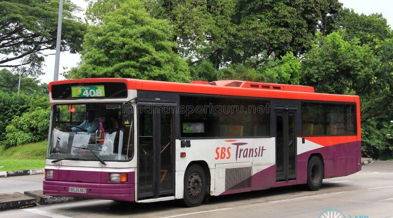 SBS Transit Volvo B10M MkIV Strider (SBS2638Z) - Parks 408