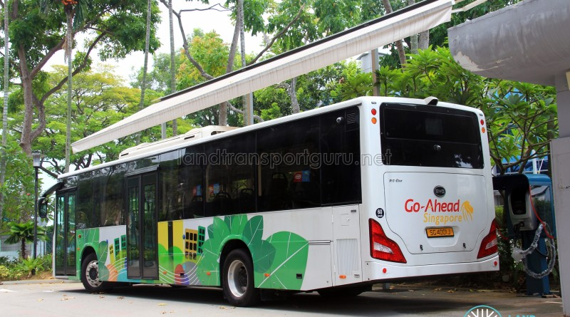 Electric Buses in Singapore
