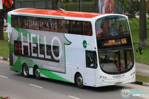 Tower Transit Volvo B9TL (SG5003Y) - Service 66