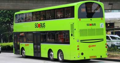 SG5049R on 180 - SMRT Buses Volvo B9TL, Wright Eclipse Gemini II body (Rear View)