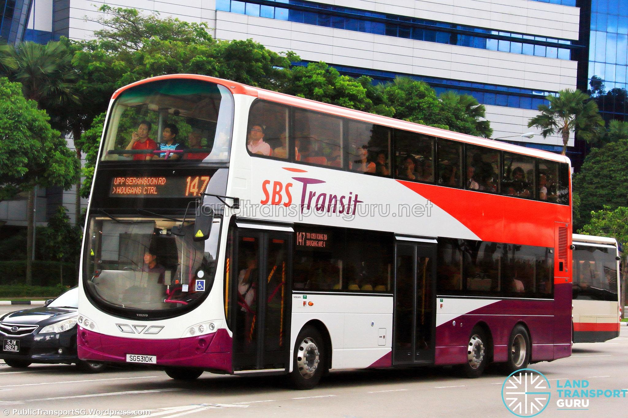 SBS Transit Bus Service 147 | Land Transport Guru