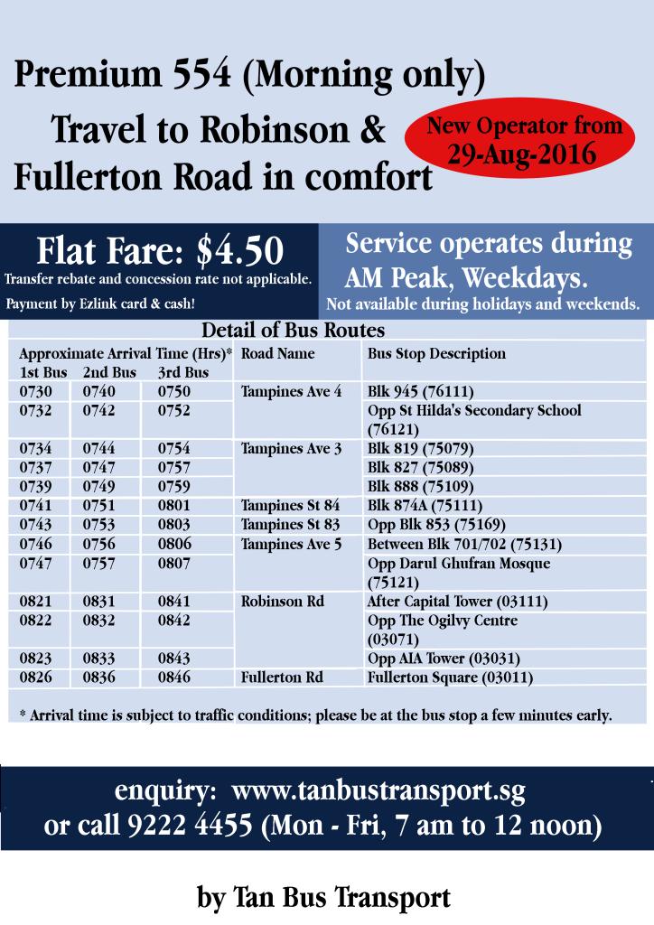Tan Bus Transport Poster - Premium 554