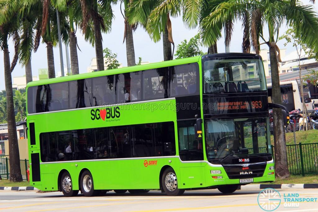 SMRT MAN A95 (SG5765G) - Service 963