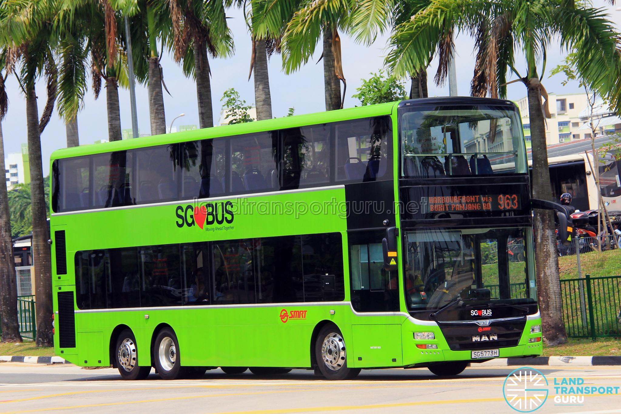 SMRT MAN A95 (SG5773H) - Service 963