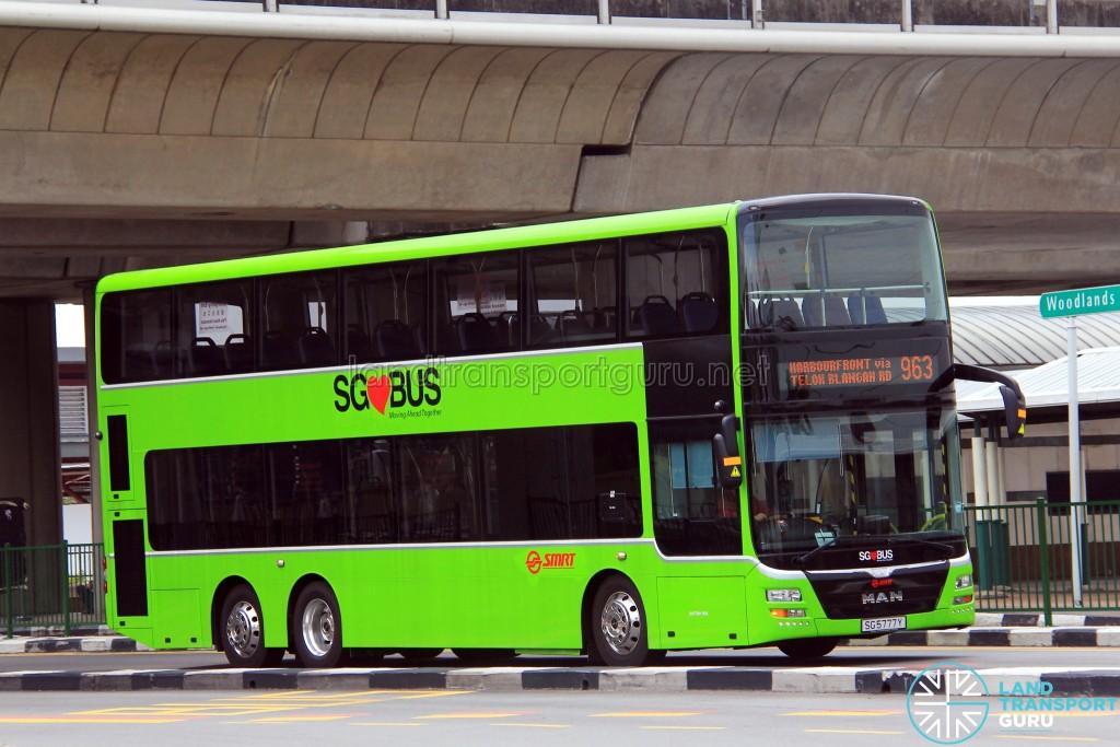 SMRT MAN A95 (SG5777Y) - Service 963