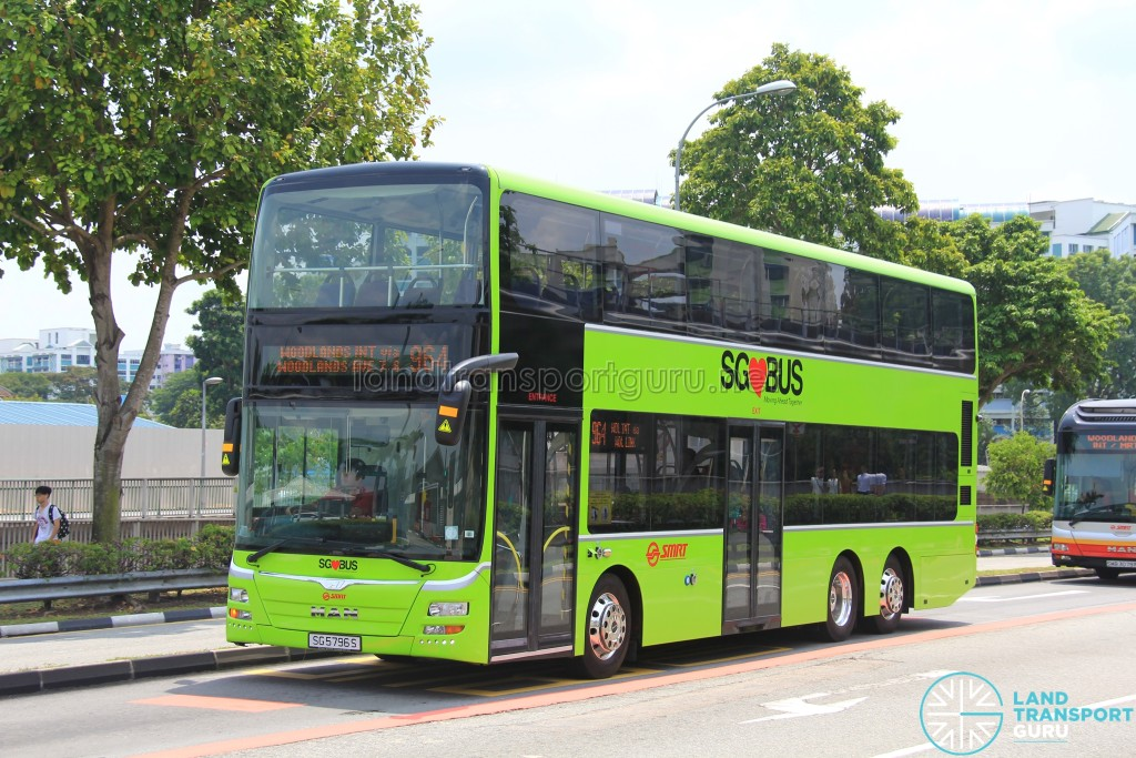 SMRT MAN A95 (SG5796S) - Service 964
