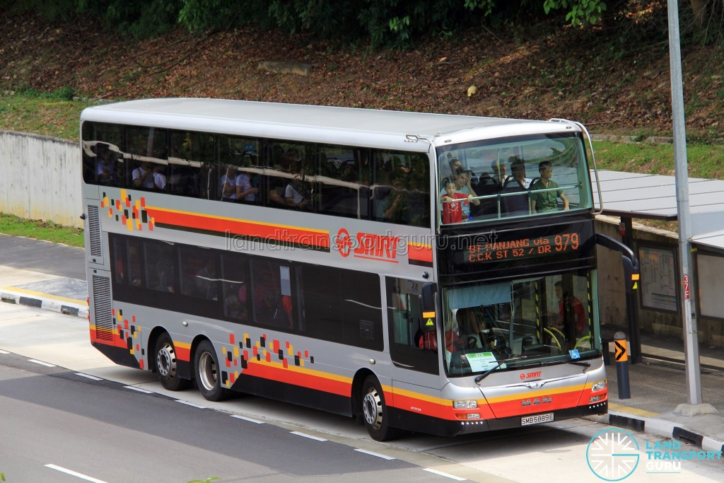 smrt bus service 979 land transport guru. Black Bedroom Furniture Sets. Home Design Ideas