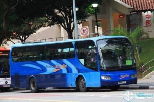 ComfortDelGro Bus (PA6177P) - Service 222P