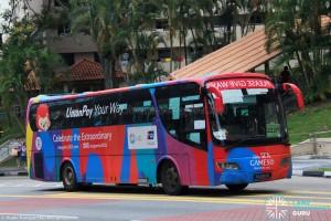 ComfortDelgro Bus (PA6180D) - Service 222P
