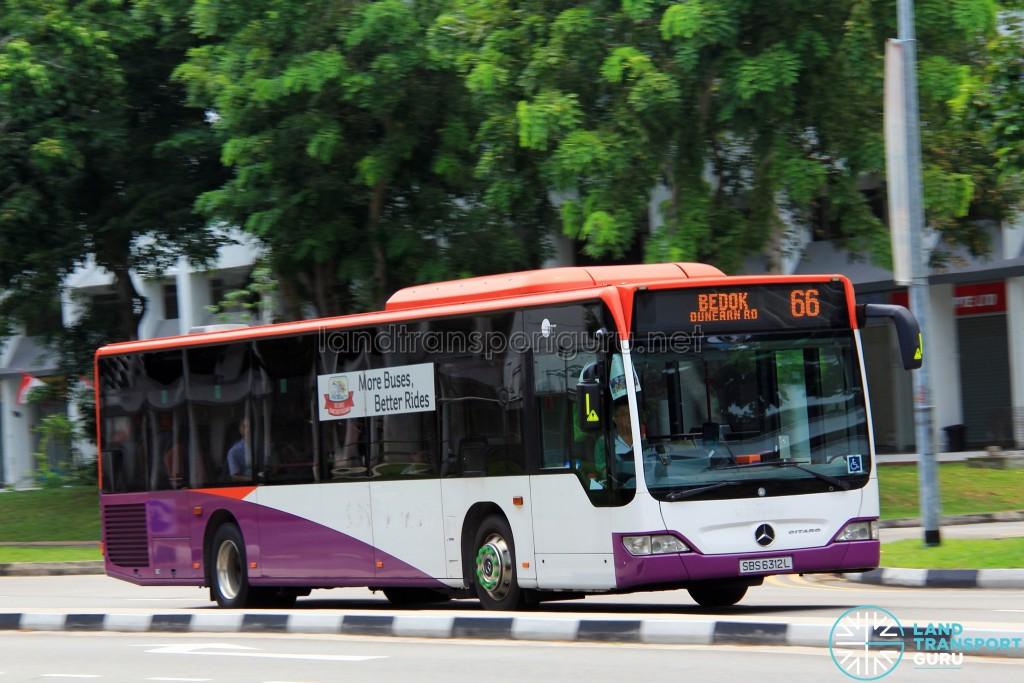 Tower Transit Mercedes-Benz O530 Citaro (SBS6312L) - Service 66