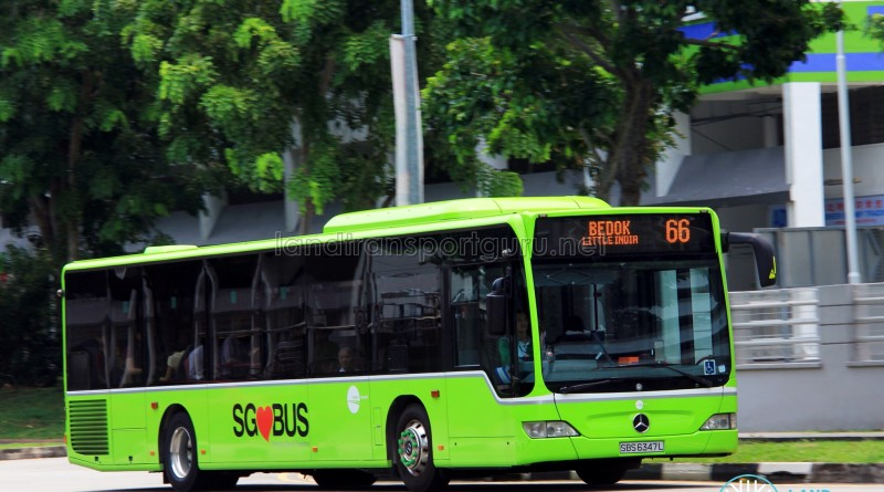 Tower Transit Mercedes-Benz O530 Citaro (SBS6347L) - Service 66