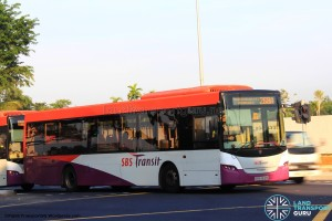 SBST Scania K230UB (SBS8512M) - Service 268A