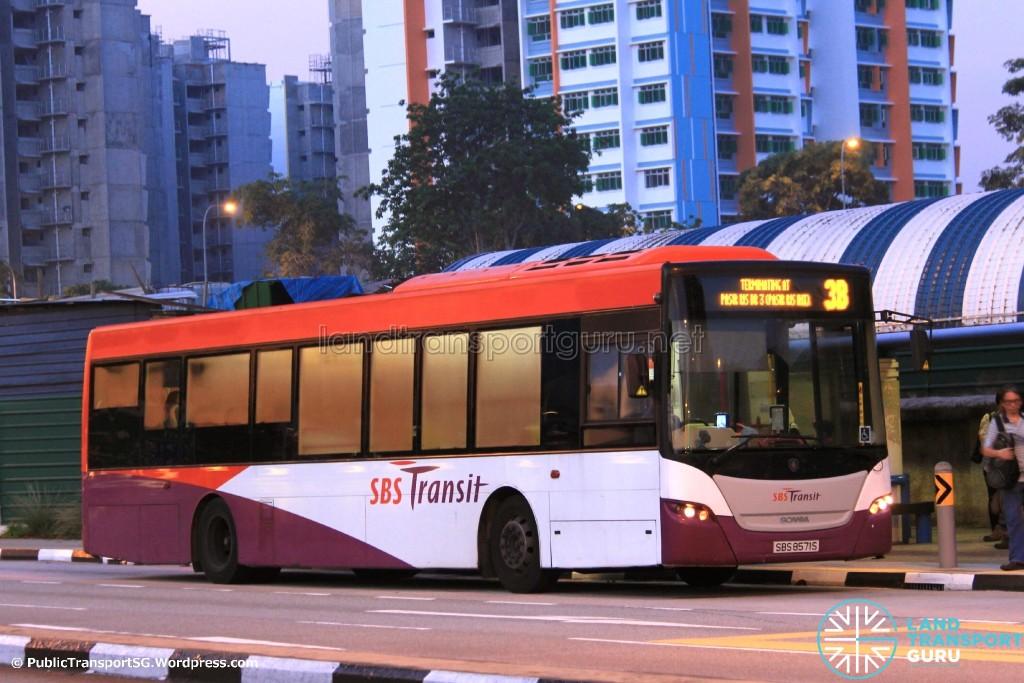 SBS Transit Scania K230UB Euro V (SBS8571S) - Service 3B